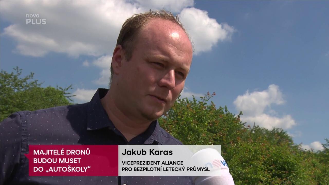 Včera v Televizních novinách na TV Nova rozhovor s Jakubem