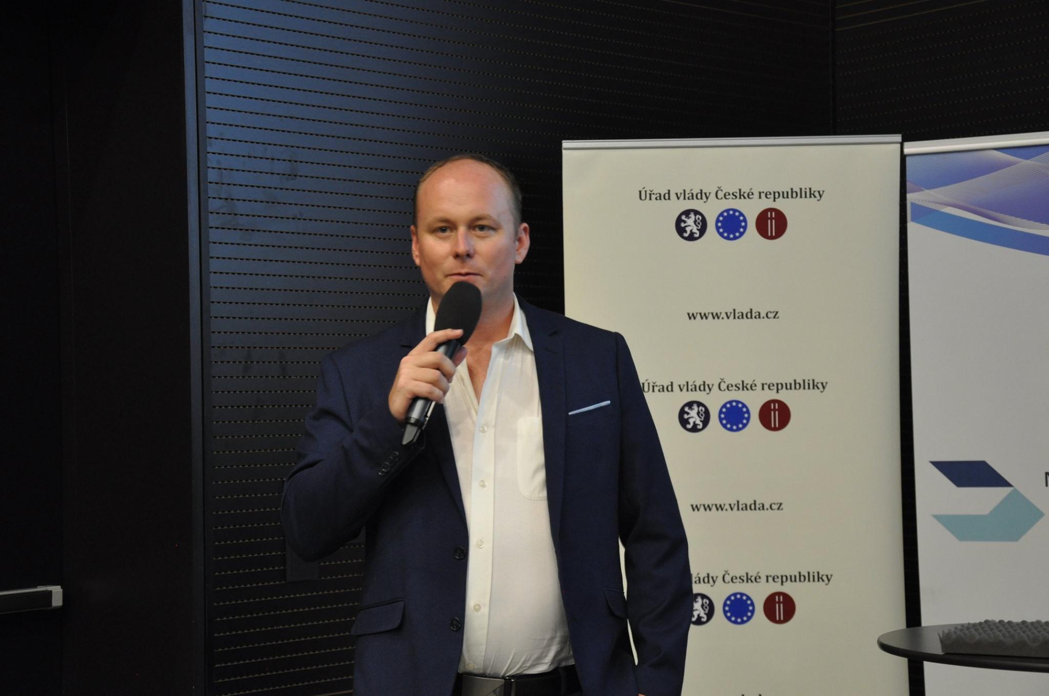 Jakub prezentoval nové trendy a vývoj dronů ve světě na fóru Copernicus 2019