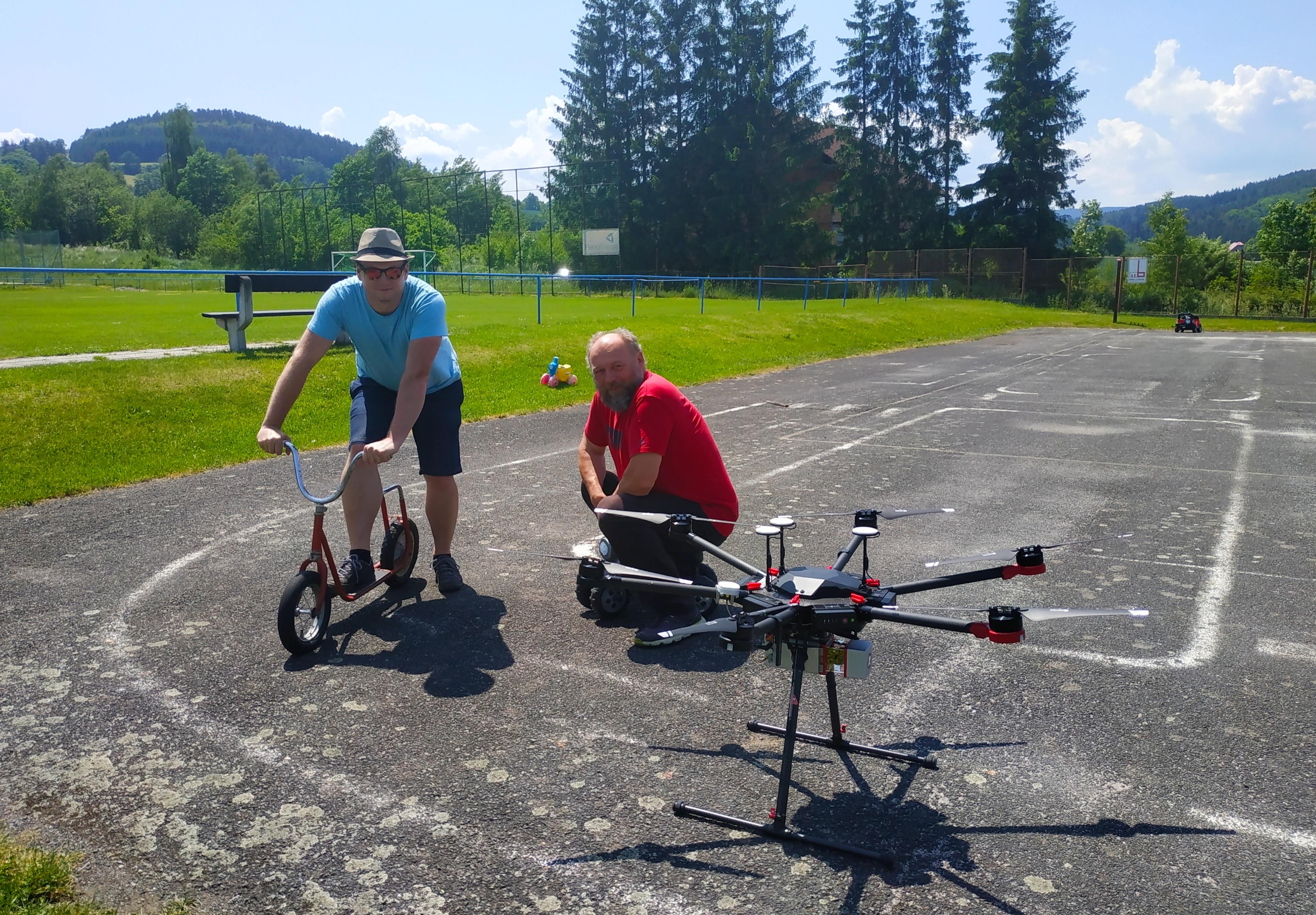 Testujeme využití laserového skenování z dronu z nízké výšky pro mapování v katastru