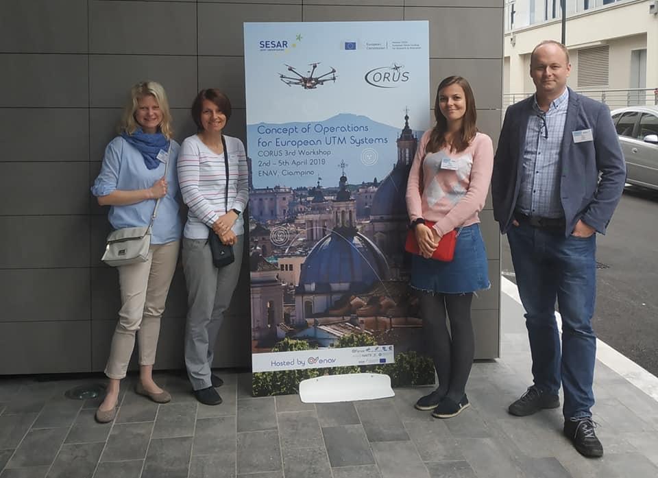 Byli jsme v Římě na workshopu U-Space projektů