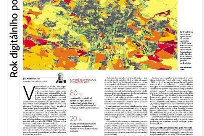 Komentovali jsme v Hospodářských novinách využití dronů v zemědělství