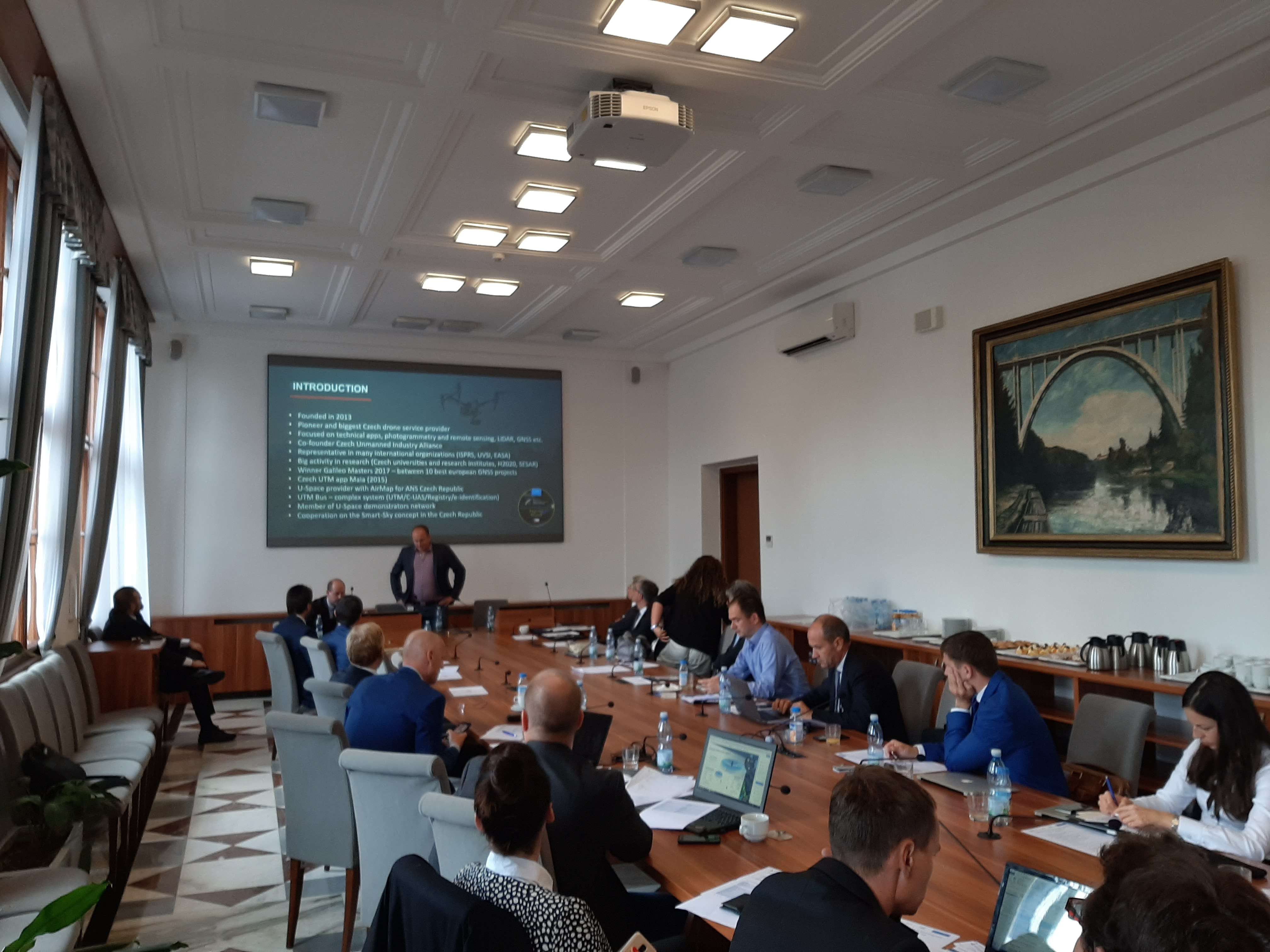 Účastnili jsme se mezi 18-ti českými firmami Česko-italského průmyslového dne se zaměřením na Space