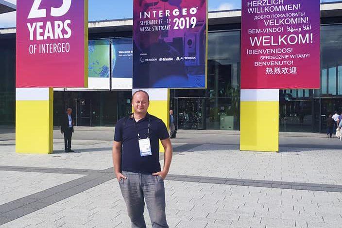 Jako každý rok jsme na světovém veletrhu InterGeo tentokrát ve Stuttgartu