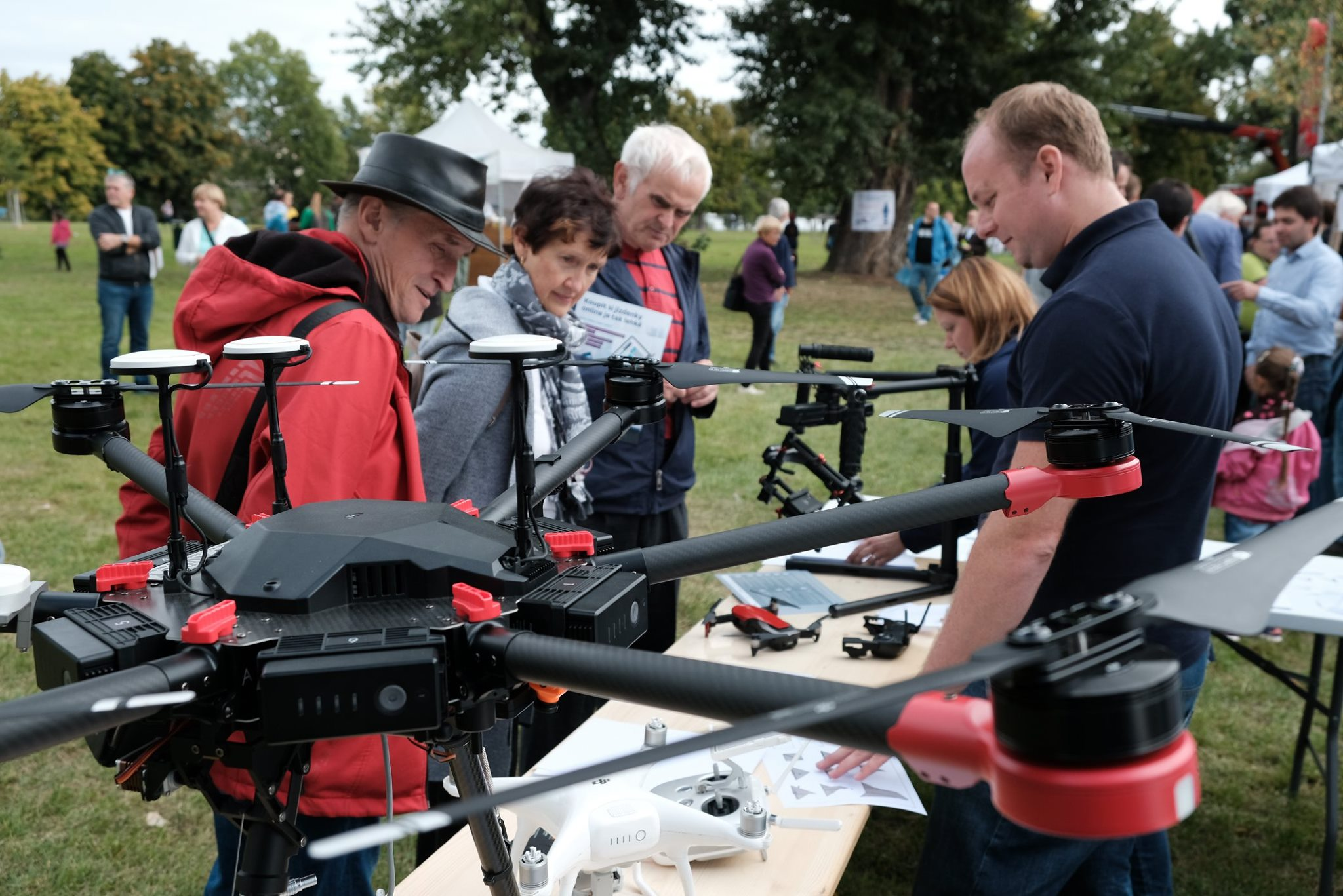 Vystavovali jsme drony na Dni otevřených dveří Ministerstva dopravy na Štvanici