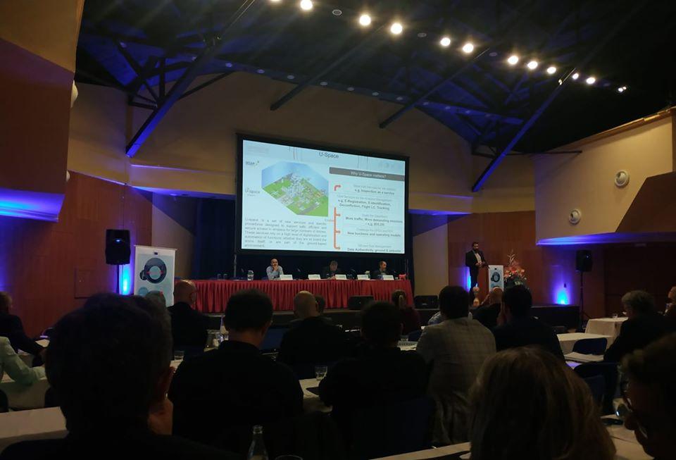 Minulý týden jsme měli prezentaci o využití a potenciálu dronů na 25. evropské konferenci MARS pod JRC a SZIF