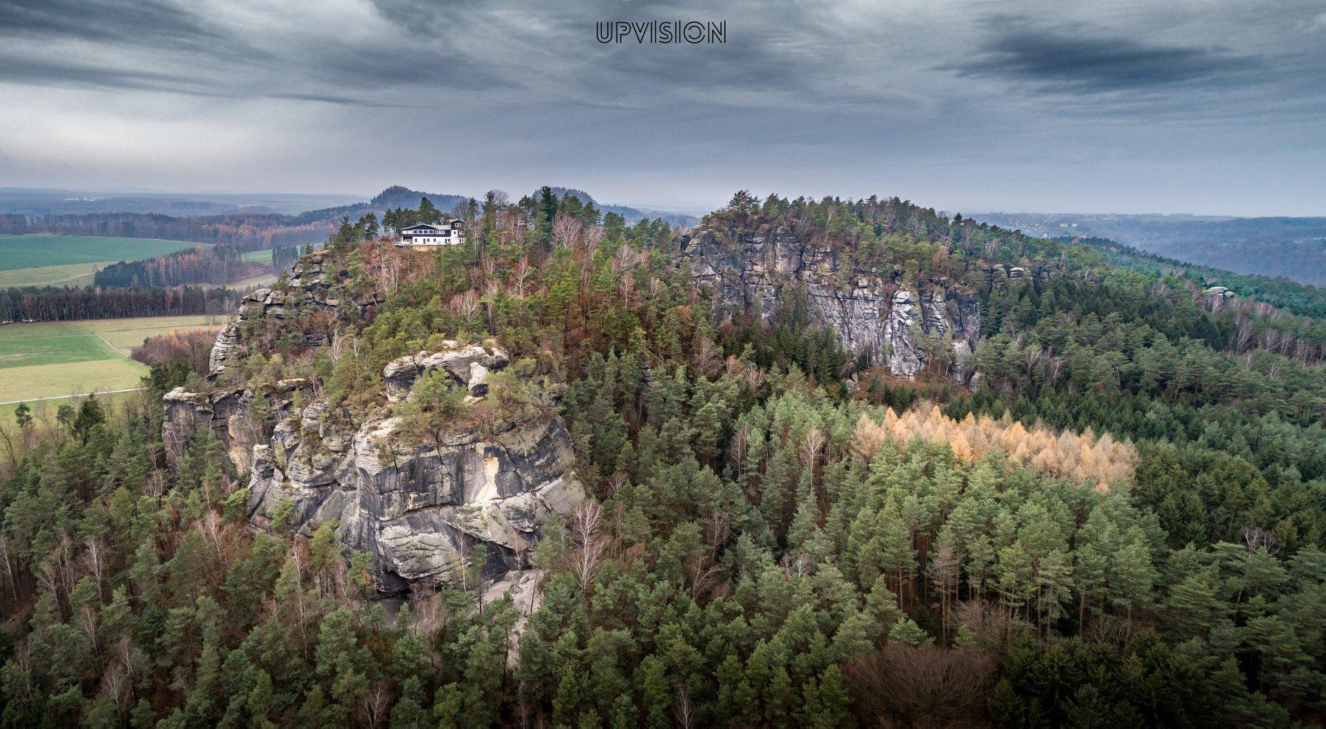Mapujeme drony skalní útvary pro výzkumné projekty Univerzity Karlovy tentokrát v Saském Švýcarsku