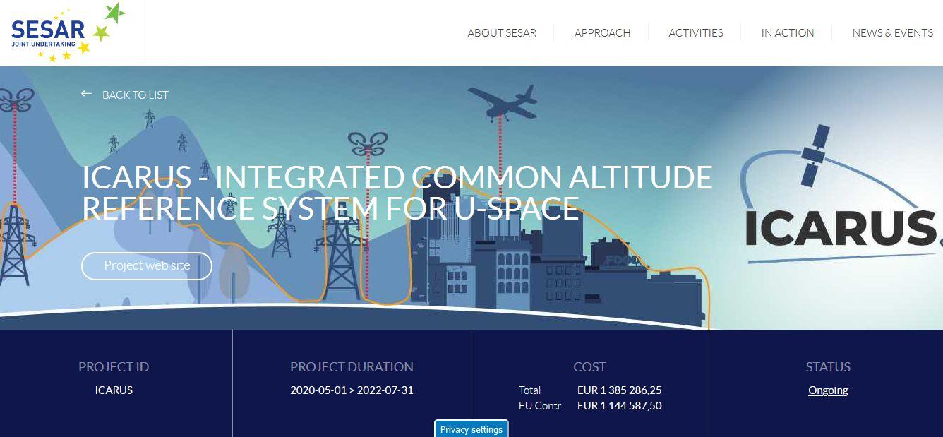 V novém mezinárodním projektu ICARUS na U-Space od SESARu je Jakub členem Advisory Board