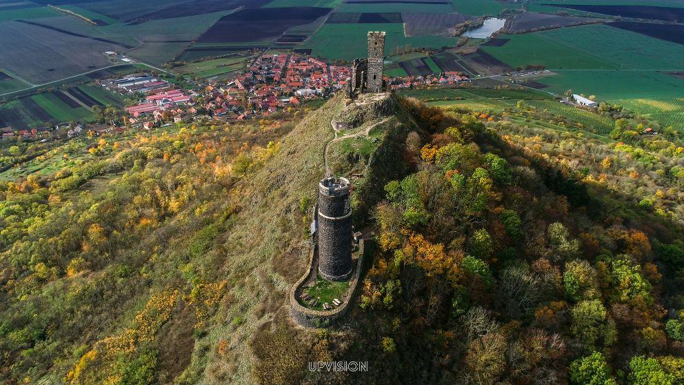 Mapovali jsme ve vysokém rozlišení hrad Hazmburk pro tvorbu 3D modelu a monitoring sesuvů