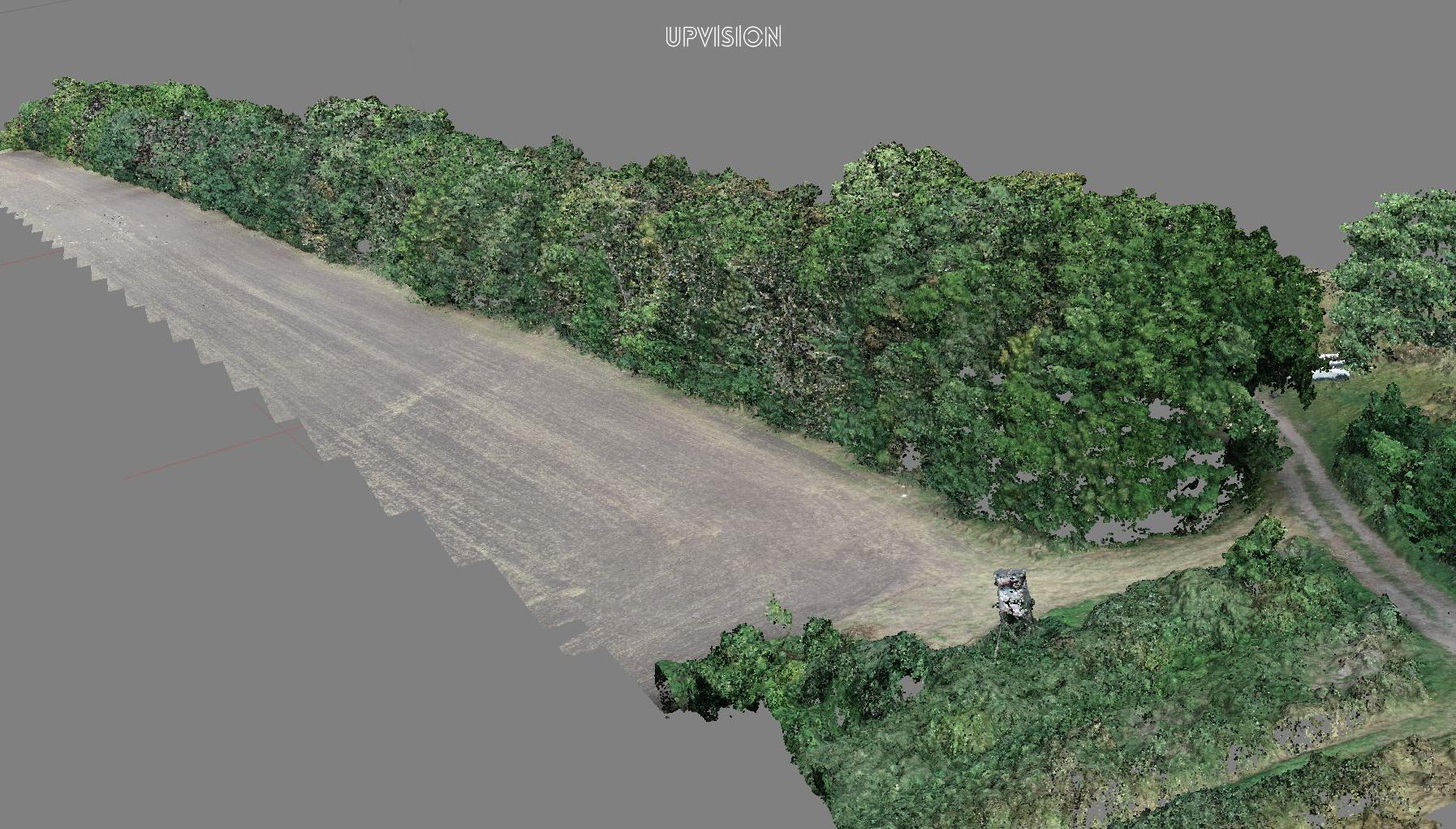 Mapujeme ve vysokém detailu z UAV větrolamy na Jižní Moravě